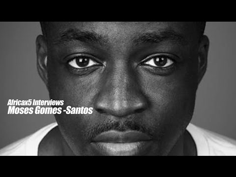 Africax5 Interviews UK Actor Moses Gomes-Santos