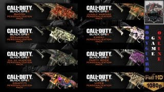 getlinkyoutube.com-Black Ops 2 NEW Camouflages - Reticules - Emblemes PS3 Tout Savoir O__o ★[Full HD 1080P]★