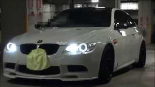 getlinkyoutube.com-【定価 51万! 超高音チタンマフラー】 BMW E92 M3 8000回転でのサウンド!