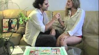 getlinkyoutube.com-Sexy Couple Play the Adult Relationship Board Game Romantic Journey