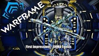 getlinkyoutube.com-Warframe: First Impressions - OHMA & Soverign Outcast Stance