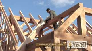 getlinkyoutube.com-Trout Run Hatchery Timber Frame Raising