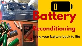 getlinkyoutube.com-Battery Reconditioning- Battery Companies PRAY You Never See This Revealing Video
