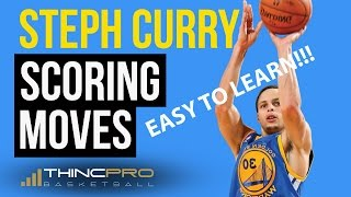 3 Stephen Curry Basketball Scoring Moves You CAN LEARN AT HOME and USE TODAY!