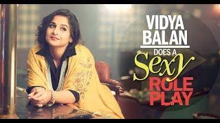 Vidya Balan does a sexy role play Tumhari Sulu Style