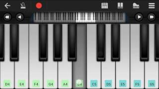 Mujhko barsaat bana lo (Junooniyat) mobile piano....