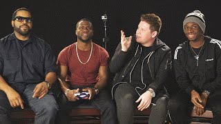getlinkyoutube.com-PLAYING GTA 5 WITH KEVIN HART & ICE CUBE!
