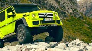 getlinkyoutube.com-Extreme Offroad ★ Mercedes-Benz Show Car G 500 4x4² Trailer
