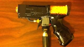 """getlinkyoutube.com-""""CZ-75"""" Homemade Full Auto Airsoft Gun"""