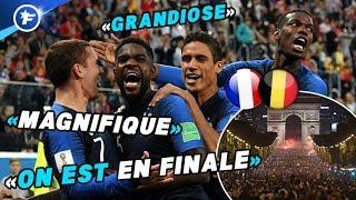 La France euphorique après sa qualification pour la finale | Revue de presse