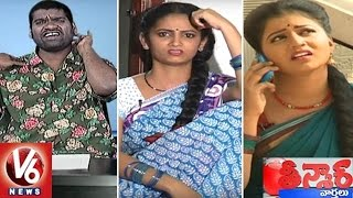 getlinkyoutube.com-Bithiri Sathi Funny Conversation With Sujatha And Savitri | Teenmaar News | V6 News