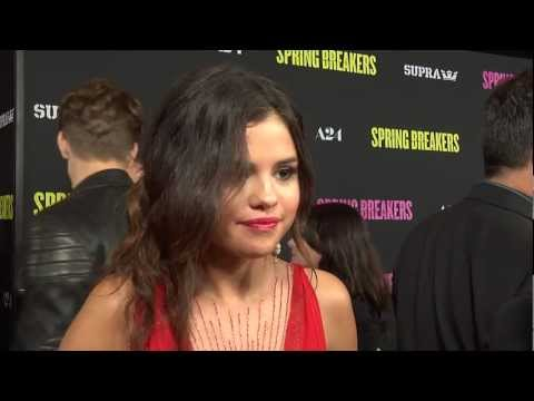 Selena Gomez Interview - 'Spring Breakers' Premiere