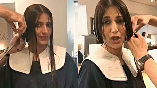 Sonali Bendre Haircut Video After Diagnosed With Cancer
