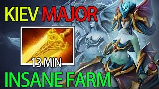 Insane Micro Naga Farming by MidOne of Team Secret Kiev Major