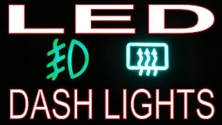 getlinkyoutube.com-How to Install LED Lights in Car. LED Dash/Switches. VW Golf Mk2 / VW Jetta MkII.