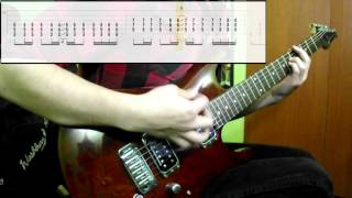 getlinkyoutube.com-Muse - Hysteria (Guitar Cover) (Play Along Tabs In Video)