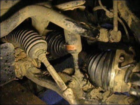 Замена пыльника шарнира равных угловых скоростей (ШРУС) на автомобиле Toyota Land Cruiser Prado 120