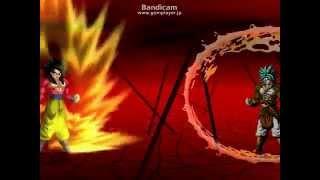 getlinkyoutube.com-Mugen SS4悟空 vs ナイトメアブロリー