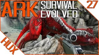 getlinkyoutube.com-ARK Survival Evolved Gameplay - ALPHA T-REX KILL | DINO RANCH 2.0
