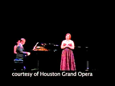 Houston Grand Opera - 2012 Concert of Arias - Second-place winner Natalya Romaniw