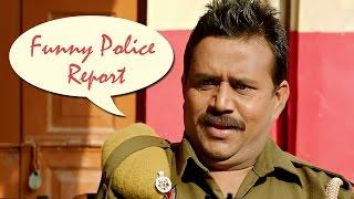 Funny Police Report - Punjabi Comedy Scene | Jatt James Bond