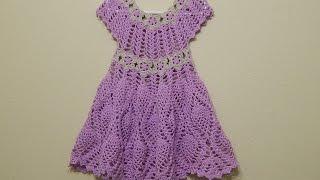 getlinkyoutube.com-Vestido Flores y Piñas parte 2 de 2