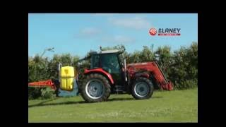 Blaney Tractor Sprayer & Boom: TGS800 with 12m deluxe boom