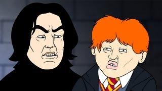 getlinkyoutube.com-Wingardium Leviosa (Harry Potter Parody Animation) - Oney Cartoons