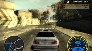 getlinkyoutube.com-Need For Speed Most Wanted - Bmw M3 GTR (Me) vs Earl [HD]