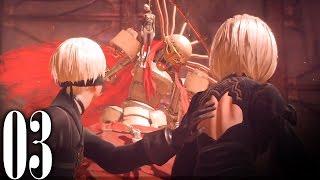 getlinkyoutube.com-#3【NieR:Automata】憂鬱な遊園地『ニーア オートマタ』【Let's Play】