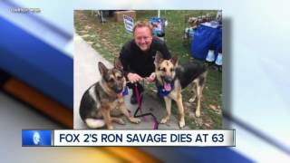 Fox 2 anchor, reporter Ron Savage dies at 63