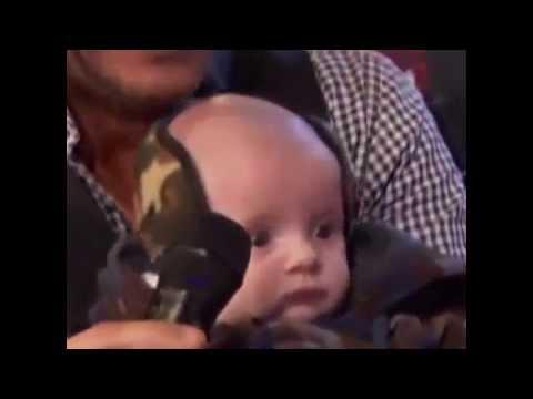 Marcelo Tinelli mostró a su hijo Lorenzo en Showmatch 2014