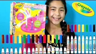 getlinkyoutube.com-CRAYOLA MARKER MAKER DIY! Make Your Own Markers|B2cutecupcakes