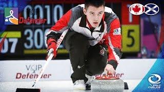 Scotland v Canada (Men) - VoIP Defender World Junior Curling Championships 2017
