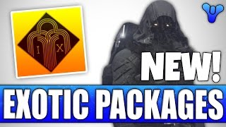 New EXOTIC PACKAGES!! News Update! - Destiny Age Of Triumph 2.6.0 Patch Notes