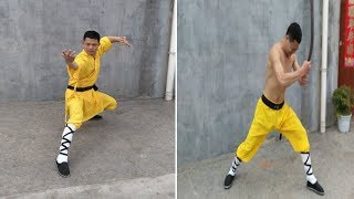getlinkyoutube.com-Extreme Body Strength: Kung Fu master uses Electric Drill on his temple without breaking the HEAD