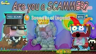 getlinkyoutube.com-Growtopia | Are you a SCAMMER? PRANK FANS! ft. SaeedRU of Legend