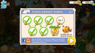 getlinkyoutube.com-En pocos minutos, Monedas de la suerte, Oincs y Gemas de la Amistad - Angry Birds Epic