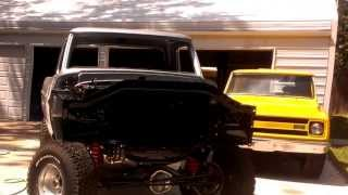 1971 Ford F100 4x4 restoration almost complete