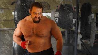 getlinkyoutube.com-Preparing for war: Rusev's WrestleMania workout