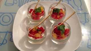 getlinkyoutube.com-Faire des verrines de poivrons - Entrée ou apéritif