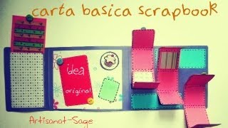 getlinkyoutube.com-Carta Basica Scrapbook /Scrapbook Basic Card