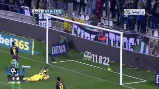[HD] MESSI SMASHING MULLER'S RECORD OF 86 GOALS  Betis vs Barca 1 2 Goals & Highlights 9 12 2012