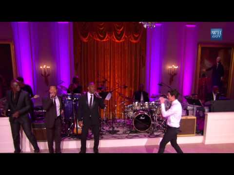 Men's Medley at The Motown Sound: In Performance at the White House