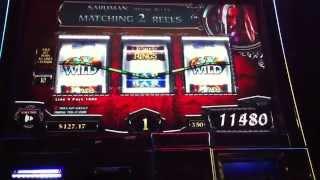 getlinkyoutube.com-MAX BET Big Win Lord of the Rings Land of Mordor Slot Machine Bonus Free Spins