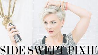getlinkyoutube.com-Side Swept Pixie Tutorial