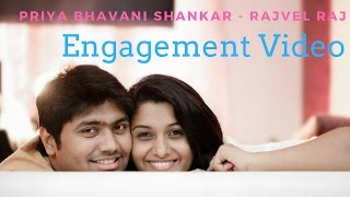 Priya Bhavani Shankar - Rajvel Raj Marriage & Engagement Videos - Exclusive