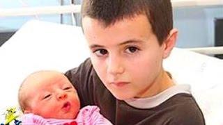 【衝撃】最年少で親になった子供たち5選