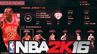 NBA 2K16 Full Ratings - Current and Legend Players