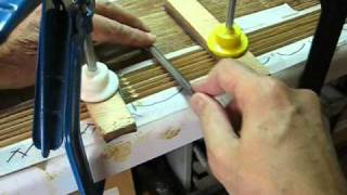 A bamboo rod, how to build, step by step